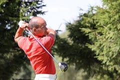 JL romain au golf Prevens Trpohee 2009 Image libre de droits