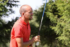 JL romain au golf Prevens Trpohee 2009 Images stock