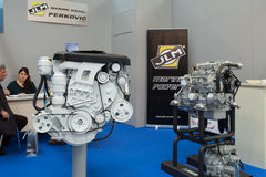 JLM Marine Diesel Engines Stock Foto