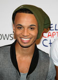JLS, Aston Merrygold Stock Images