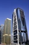 JLT Dubai skyscraper. Day time dubai Royalty Free Stock Photography