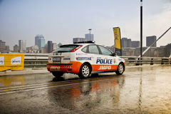 JMPD Police Patrol Vehicle Royalty Free Stock Photo
