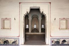 Jnana mahal, fuerte del kumbhalgarh Imagenes de archivo
