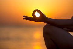 Jnana mudra Royalty Free Stock Images
