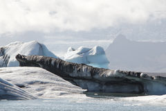 Jökulsarlon lagoon no. 8 Royalty Free Stock Image