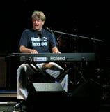 Jo Bohnsack sur l'étape au festival de jazz de l'Ombrie Photo stock