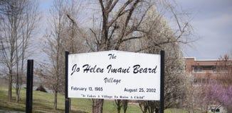 Jo Helen Iwani Beard Village, Jackson, Tennessee fotos de stock royalty free