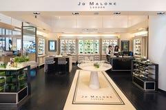 Jo Malone London lager på den Siam Paragon shoppinggallerian, Bangkok Arkivfoton