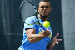 Jo-Wilfried Tsonga (FRA) Fotos de Stock Royalty Free