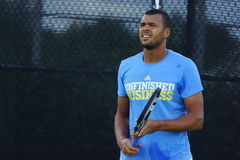 Jo-Wilfried Tsonga (FRA) Royalty Free Stock Image