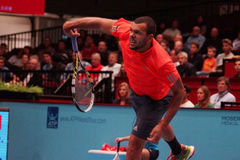 Jo-Wilfried Tsonga (FRA) Royalty Free Stock Images