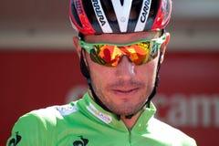 Joachim在Vuelta的Purito罗德里格斯2012年 库存图片