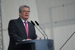 Joachim Gauck , President of Germany Stock Image