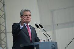 Joachim Gauck, President van Duitsland Royalty-vrije Stock Foto