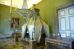 Joachim Murat bedroom. November 1, 2015 Royal Palace of Caserta. The bedroom of Joachim Murat and Caroline Bonaparte Royalty Free Stock Photography