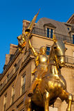Joan łuk statua, Paryż Obrazy Royalty Free