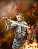Joan of Arc Stock Images