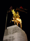 Joan of Arc - Maid of Orleans. New Orleans, Louisiana Royalty Free Stock Image