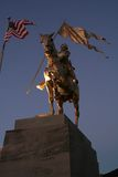 Joan of Arc statue. In French Quarter Royalty Free Stock Image