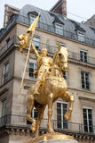 Joan of arc statue, Paris Royalty Free Stock Image