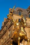 Joan av bågstatyn, Paris Royaltyfria Bilder