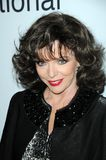 Joan Collins stockbild