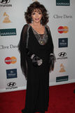 Joan Collins. Joan Collins  at the Clive Davis And The Recording Academy's 2012 Pre-GRAMMY Gala, Beverly Hilton Hotel, Beverly Hills, CA 02-11-12 Royalty Free Stock Photo