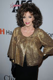Joan Collins Stock Photo