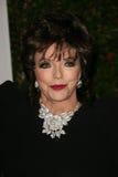 Joan Collins imagens de stock