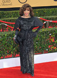 Joan Collins. LOS ANGELES, CA - JANUARY 25, 2015: Joan Collins at the 2015 Screen Actors Guild  Awards at the Shrine Auditorium Royalty Free Stock Image
