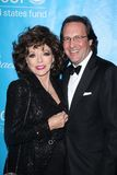 Joan Collins, Percy Gibson Stock Images