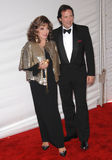 Joan Collins, Percy Gibson Royalty Free Stock Images
