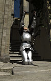 Joan d'arc - dans la ville Image libre de droits