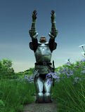 Joan d'arc - supplication Images libres de droits