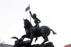 Joan di Art Statue a Pargue, repubblica Ceca fotografie stock libere da diritti