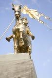 joan för 2 båge staty Royaltyfri Fotografi