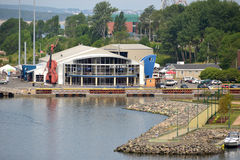Joan Harriss Cruise Pavilion - Sydney Nova Scotia Stock Afbeeldingen