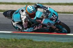 Joan Mir. Machado Team. FIM CEV Repsol International Championship. Barcelona, Spain - June 20, 2015 Stock Photography