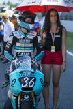 Joan Mir. Moto3. Machado Leopard Team Stock Photos