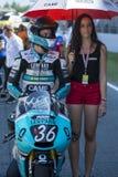 Joan Mir. Moto3. Machado Leopard Team. FIM CEV Repsol International Championship. Barcelona, Spain - June 20, 2015 Stock Photos