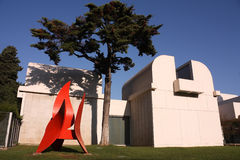 Joan Miro Foundation Museum Stock Photography