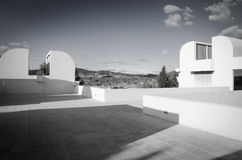 Joan Miro Foundation Museum Lizenzfreie Stockfotos