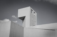 Joan Miro Foundation Museum Lizenzfreies Stockbild