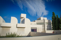 Joan Miro Foundation Museum Royalty Free Stock Photo