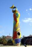 Joan Miro Park - Barcelona royalty-vrije stock foto's