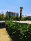 Joan Miro Park in Barcelona Stock Photography