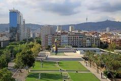 Joan Miro park w Barcelona zdjęcie stock