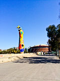 Joan Miro parkerar Barcelona royaltyfria foton
