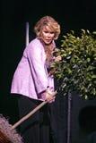 Joan Rivers presteert stock fotografie