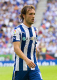 Joan Verdu of Espanyol Stock Image
